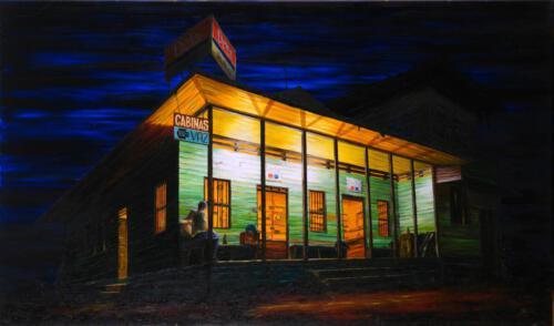 Cahuita, 1993, Öl, 61x103cm