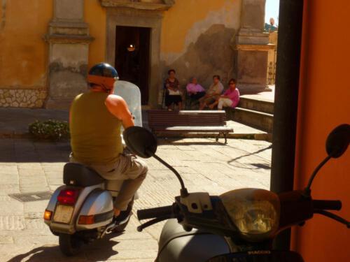 Italienische Impression: Dorf in der Toskana