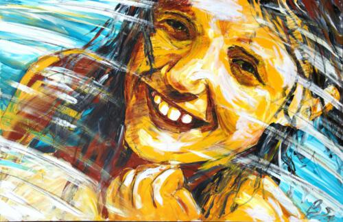 Helena, Acryl 2012, 115 x 75