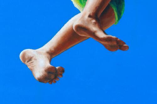 Ohne Titel 01 (Detail), 2010, Öl und Acryl, 120x100cm