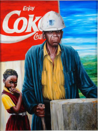 Ohne Titel 03, 1993, Öl, 70x92cm