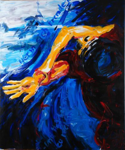 Ohne Titel 07, 2009, Acryl, 120x100