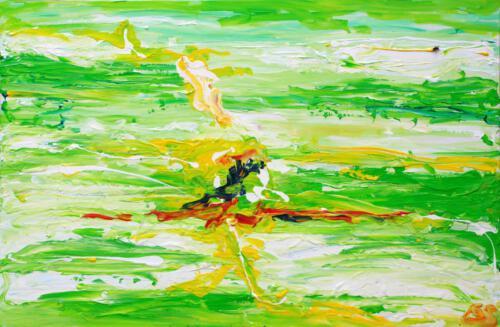 Ohne Titel 09, 2011, Acryl, 120x80cm