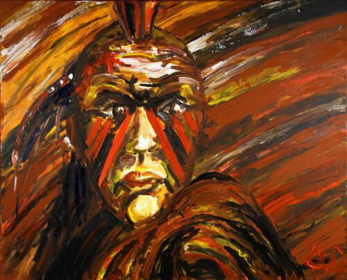Ohne Titel 11, 2011 Acryl, 100x80cm