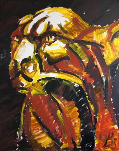 Ohne Titel 13, 2012 Acryl, 100x80cm