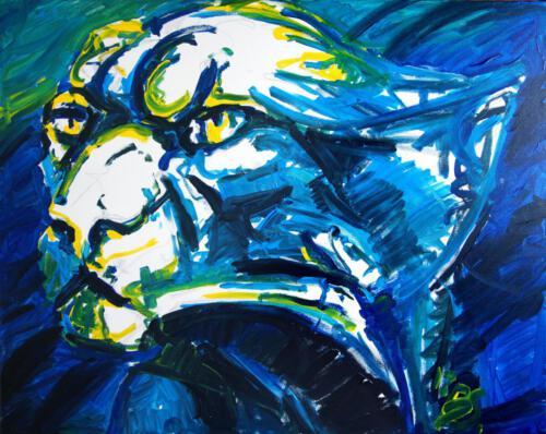 Ohne Titel 14, 2012 Acryl, 80x100 cm