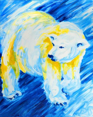 Ohne Titel 15, 2012 Acryl, 100x80cm