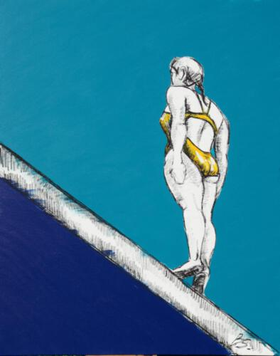 Ohne Titel 20, 2012, Acryl, 100x80cm