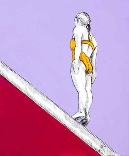 Ohne Titel 21, 2012, Acryl, 120x100cm