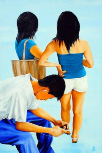 Ohne Titel 8, 2011, Öl und Acryl, 120x80cm