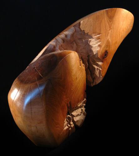 P.005  (1.Ansicht) Walnussholz, 2011, 44cm hoch 61cm breit