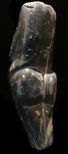 P.011 (2.Ansicht), Speckstein, 1982, ca 18cm hoch