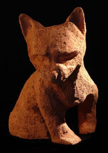 P.014 Urmel, Ton, 2009, ca 30cm hoch
