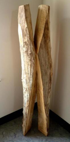 P.020, Holz, 2011, 215cm hoch, Gemeinschaftsarbeit mit Thomas Czellnik