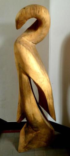 P.021, Holz, 2010, ca. 200cm hoch, Gemeinschaftsarbeit mit Thomas Czellnik