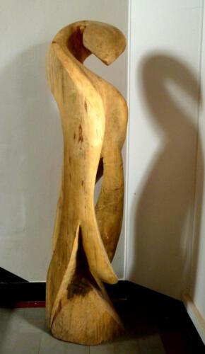 P.021, Holz, 2010, ca 200cm hoch, Gemeinschaftsarbeit mit Thomas Czellnik