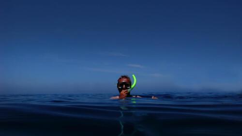 Menschen, Unter Wasser