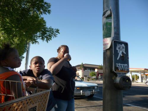 Menschen auf der Straße