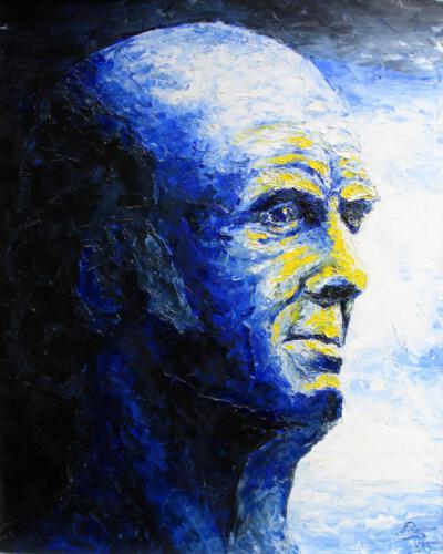Samuel Hahnemann, 1996, Öl, 60x80cm