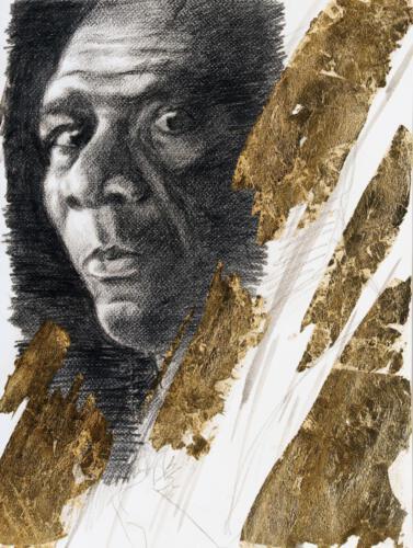 Z.231, Morgan Freeman 2015, 30x40 cm